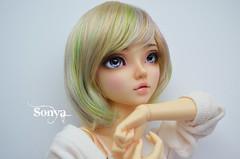 DSC_2137 (sonya_wig) Tags: fairytreewigs wig bjdwig minifeewig bjd bjdminifee minifeechloe handmadedoll bjddoll dollphoto fairyland fairylandminifee minifee chloe bjdphotographycoloringhair