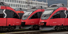 Einige Talente (The Rail Net) Tags: öbb innsbruck bahnhof talent sbahntirol hauptbahnhof