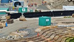 Baustelle am Miller Point (Sanseira) Tags: sydney australien australia millers point baustelle bauarbeiter barangaroo