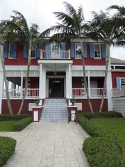 Nassau, Bahamas, Day 3 -- Caribbean Cruise Vacation, John Watling's Distillery,  Main Building (Mary Warren 12.9+ Million Views) Tags: nassaubahamas cruise hollandamerica veendam johnwatlingsdistillery architecture building house stairs tiles porch