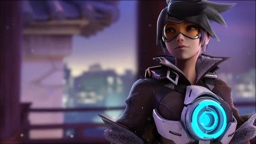 Overwatch Tracer Game Live Wallpaper A Photo On Flickriver