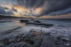Clouds (Caramad) Tags: agua longexposure zierbena landscape nubes ellastrón azul sea marcantábrico seascape rocks olas bizkaia clouds