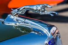Greyhound hood ornament (sniggie) Tags: 1930sford ford automobile classicautomobile classiccar hoodornament vintageautomobile