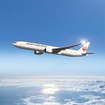 JAL ボーイング777-300ERの写真