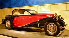 Bugatti Type 50T Coach Profilée 1932 (XBXG) Tags: bugatti type 50t coach profilée 1932 type50 coupé coupe red black louwman museum leidsestraatweg den haag denhaag nederland holland netherlands paysbas musée automobile vintage old classic french car auto voiture ancienne française france vehicle indoor