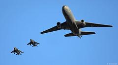 United States Marine Corps AV-8B Harrier II Plus 165312/WP-07 & 164551/WP-05, VMA-223 'Bulldogs' & USAF KC-10A Extender 86-0037 overflying NAS Rota/LERT (Mosh70) Tags: rotanavalairstation nasrota lert unitedstatesmarinecorps av8bharrieriiplus bulldogs wp07 wp05 usmc 165312 164551 unitedstatesairforce usaf kc10aextender 860037