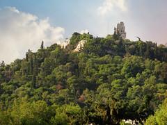 Filopappos Hill (jimsawthat) Tags: ruins vista urban athens greece enhanced