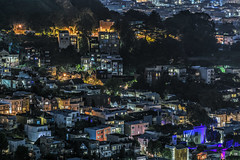 corona heights rooftops (pbo31) Tags: bayarea california nikon d810 night dark black city january 2019 boury pbo31 sanfrancisco urban over twinpeaks view rooftops hdr coronaheights