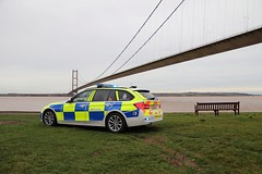 LD68 KFT (Ben - NorthEast Photographer) Tags: humber bridge humberside a15 hull cliff road police bmw 3series 330d estate traffic car rpu policing unit anpr automatic number plate recognition camera system parked blues blue lights sirens fendoffs reflection 68plate brand new ld68 kft ld68kft photoshoot