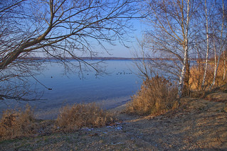 Winterruhe am See