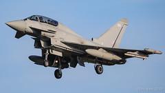 ZK383/383 TYPHOON RAF (MANX NORTON) Tags: raf coningsby egxc tornado hawk tucano qra typhoon eurofighter