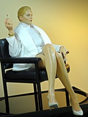 Recent Arrival – Blitzway 1/4 Scale Statue – Basic Instinct – Sharon Stone as Catherine Tramell – Ah... Oh... Ah... (My Toy Museum) Tags: blitzway basic instinct statue sharon stone
