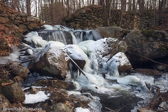 1-watermark (Brian M Hale) Tags: secret waterfall water fall ice snow winter outside outdoors nature natural hidden secluded rutland ma mass massachusetts brian hale brianhalephoto new england usa newengland