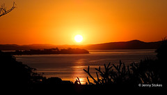 Sunset at Port Stephens, NSW (Jenny Stokes Melbourne) Tags: australia australian landscape sunset