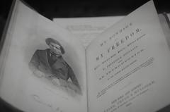 """""""My Bondage and My Freedom by Frederick Douglass"""" (Photography by Sharon Farrell) Tags: library publiclibrary freelibraryofphiladelphia parkwaycentrallibrary johnfabelearchitect logansquare philadelphia philadelphiapa architectureofphiladelphiaphiladelphiaarchitecturecityofphiladelphiafranklintowne philadelphiablackandwhiteblackwhitemonochromenoiretblancbwbeautifullibrariesbeauxartsarchitecturec1927nationalregisterofhistoricplaces"""