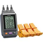 電圧計付検相器の写真