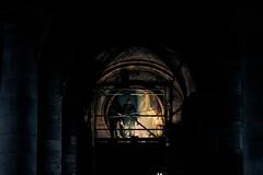 Nous les artistes anonymes (jérémydavoine) Tags: scaffolding échafaudage echafaudage cathedral cathédrale cathédralenotredame église églisenotredame eglise normandie notredame lehavre seinemaritime architecture architecturereligieuse art artiste artisan homme hommes man men vault voûte chantier worksite working work tourisme shadow light ombre sombre lumière pierre stone unesco patrimoine monumenthistorique monument catholic catholique christian chrétien