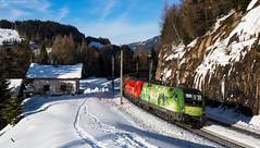 1016 020 + 1016 021 - Gries (Bastian Weber) Tags: öbb taurus 1016 1116 siemens gries brenner österreich zug eisenbahn berge güterzug