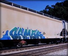 camel (timetomakethepasta) Tags: camel freight train graffiti art grainer hopper
