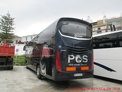 """2018 031001 SCANIA IRIZAR COACH PGS TRAVEL GROUP MADRID 46 6132 KFP IN FRIGLIANA (Andrew Reynolds transport view) Tags: europe spain andalucia transport bus coach transit passenger omnibus diesel """"mass transit"""" 2018 031001 scania irizar pgs travel group madrid 46 6132 kfp in frigliana"""