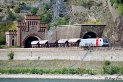 SVG_4266 (giver40 - Sergi) Tags: oberwesel palatinadorenano alemania túnel tunnel railway ferrocarril eisenbahn rhin germany railpool br185 rhein loreley