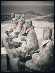 Nothing To Be Desired (MElfver) Tags: olympusomdem10ii japan volcano statue buddhism mountomuru izu olympusmzuiko124028