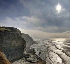 Dream your dreams (pauldunn52) Tags: glamorgan heritage coast wales waves sunstar cliffs sea temple bay