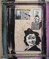 - (txmx 2) Tags: hamburg streetart sticker postalsticker sued cobalt klotz archive reloaded