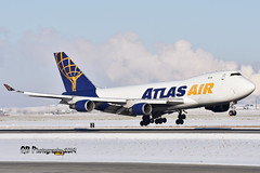 N475MC Atlas Air Boeing 747-47U(F) DSC_4913 (Ron Kube Photography) Tags: aircraft plane flight airliner nikon d7200 nikond7200 ronkubephotography yyc calgary calgaryinternationalairport boeing74747uf n475mc atlasair