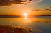 reflet solaire - sun reflection