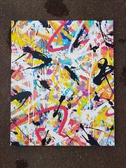 """Sun spray""  Toile de 80 x 65 cm Bomb Junkiz Crew #graffiti #graffitiart #art #peinture #paint #toile #canvas #abstract #abstractart #letters #tag #logo #splash #dripping #acrylic #aerosol #galerie #galeriedart #gallery #galleryart #paris #colorislife #co (bowsjfb) Tags: dripping graffitiart abstractart art canvas galleryart peinture galeriedart paint colorz abstract colorislife toile galerie paris acrylic logo graffiti tag splash letters gallery aerosol"