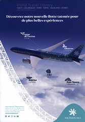 Air Tahiti Nui - Découvrez notre nouvelle flotte tatouée pour de plus belles expériences (Boeing 787 Dreamliner) 2018_1, airlines brochure (World Travel library - The Collection) Tags: airtahitinui 2018 boeing787 boeing b787 dreamliner airplane plane aircraft repülőgép flugzeug transportation avia flying airtoair colors colours blue airlinesbrochurefrontcover frontcover brochure aviation travel library center worldtravellib papers prospekt catalogue katalog fluggesellschaften compagnie aérienne compagnia aerea légitársaság شركةطيران 航空会社 flug air airtransport transport holidays tourism trip vacation photos photo photography pictures images collectibles collectors collection sammlung recueil collezione assortimento colección ads online gallery galeria documents dokument broschyr esite catálogo folheto folleto брошюра broşür