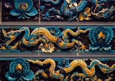 Chinese Dragon (Big Bright Photography) Tags: pick chinese art british museum dragon tile antique smc pentax 50mm f14