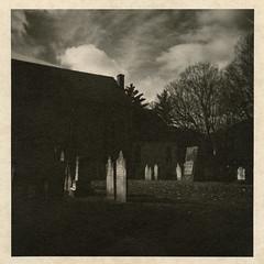 gone away (A Personal Voyage) Tags: art300 darkroomprint holga
