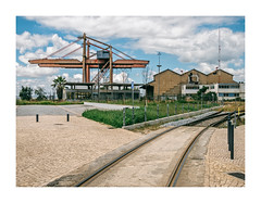 Barreiro, Portugal (Sr. Cordeiro) Tags: barreiro portugal margemsul carris rails industrial fábrica factory panasonic lumix gx80 gx85 14140mm