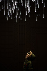 a Light Shower (Dan Forzano) Tags: lightsculpture portrait montalvoartcenter art museum winter montalvoartscenter california night saratoga ca usa us artshow munrophotocontest