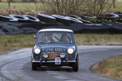 HERO LE JOG Rally 2016 (<p&p>photo) Tags: 1960s 60s 1966 sixties number19 19 number blue minicooper s mini coopers minicoopers cooper jyh52d billcleyndert cleyndert danharrison harrison track kames circuit rally sport auto retro vehicle classics classiccars classiccar classic car motorsport historicendurancerallying organisation historicendurancerallyingorganisation historic endurance rallying hero december 2016 december2016 worldcars