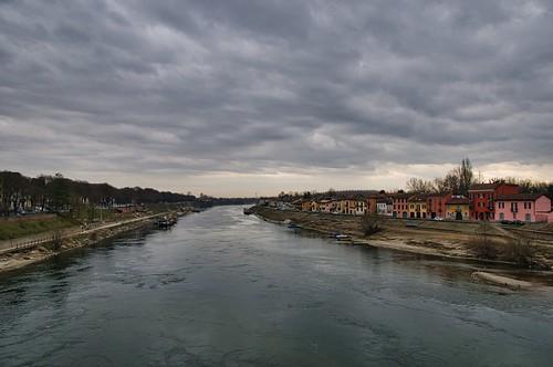 Il Ticino a Pavia