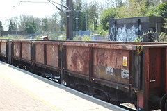 Transrail - ZCA (AndrewHA's) Tags: alexandrapalace station northlondon railway freight train zca oca open goods wagon transrail