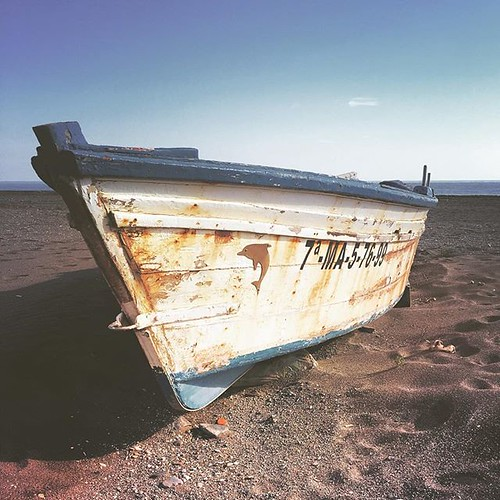 Gone fishing  #beach #beachwalk #fishing #fishingboat #travel #travelphotography #spain #espana #andalucia
