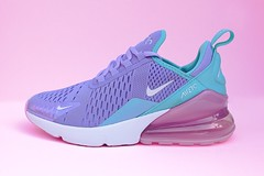 Nike Air Max 270 (PhotosByMeow) Tags: nike shoes photography product colors pink canon