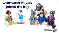 Overwatch Players joined the fray (WhiteFang (Eurobricks)) Tags: lego minifigures cmfs collectable walt disney mickey characters licensed design personality animated animation movies blockbuster cartoon fiction story fairytale series magic magical theme park medieval stories soundtrack vault franchise review ancient god mythical town city costume space