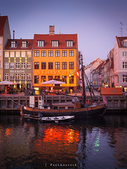 Nyhavn Sunset (amipal) Tags: 175mm capital city copenhagen denmark europe holiday manuallens nyhavn sunset travel urban voigtlander