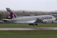 A7-APE | Airbus A380-861 | Qatar Airways (cv880m) Tags: london egll heathrow lhr gb uk aviation airliner airline aircraft airplane jetliner airport a7ape airbus a380 388 380800 380861 qatar qatari qatarairways oryx superjumbo