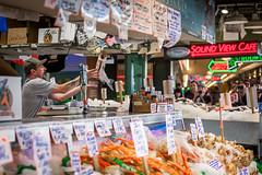 Seattle-1327 (Yale Gurney Pictures) Tags: ferriswheel ferry fish landmark photo photography pike pikemarket pikeplacemarket pugetsound seattle spaceneedle yalegurney washington usa