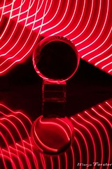 Kugellightpainting (monforklick) Tags: glaskugel lightpainting spiegelung
