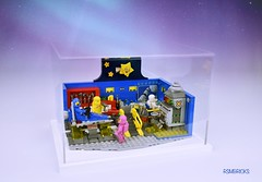 Classic Space (rsmbricks) Tags: lego minifigures minifigs minifig minifigure showcases rsmbricks afol