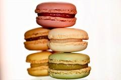 Macaroons Macro (helensaarinen) Tags: macro sweet colors cookies