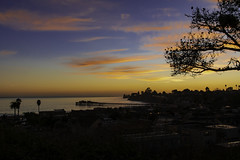 Capitola Sunset (punahou77) Tags: california capitola capitolabeach stevejordan sky sunset landscape seascape nikon night silhouette clouds color blue beach nikond500 punahou77 pacificocean pier