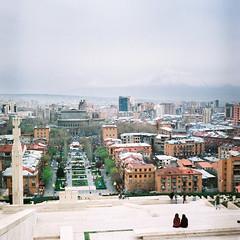 Երևան (newmandrew_online) Tags: armenia 6x6 color fuji mamiya mamiyac220 landscape trip 400h